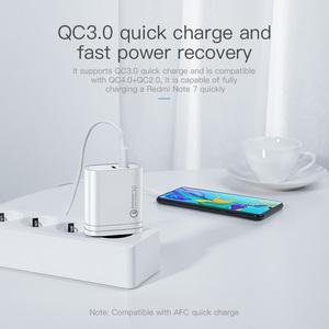 Image 5 - KUULAA USB Charger 36W Quick Charge 4.0 PD 3.0 USB Type C Fast Charger For iPhone Xiaomi Portable Mobile Phone Charger Adapter