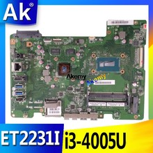 AK UNTUK For Asus All-In-One ET2231I ET2231 ET223 Papan Utama Papan Utama SR1EK I3-4005U N15V-GM-S-A2 Kartu Video(China)
