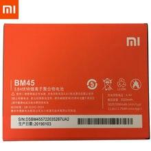 1 pçs 100% original de alta qualidade bm45 3020mah bateria para redmi note2 xiaomi redmi nota 2 telefone móvel