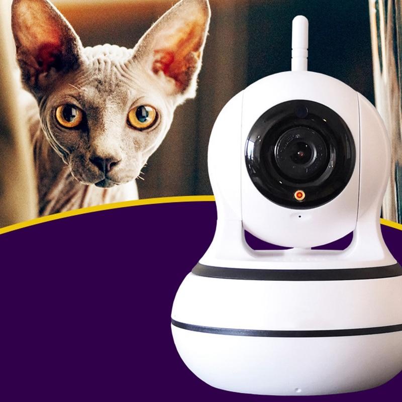 Chat créatif animal de compagnie Led jouet drôle Intelligent automatique chat sport formation divertissement jouets multi angle réglable moniteur chat - 4