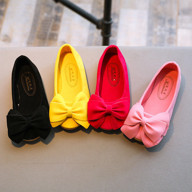 Children Kids Baby Girls Princess Dance Shoes Girl Dress Party Flats Casual First Walkers Soft Slip-on Shoes