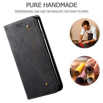 Retro Cowboy Magnetic Leather Flip Case For VIVO S5 S6 U3 V17 V19 Y17 Y50 Y9S Z6 IQOO Neo 3 Wallet Card Slots Stand bags Cover Accessories Phone Covers