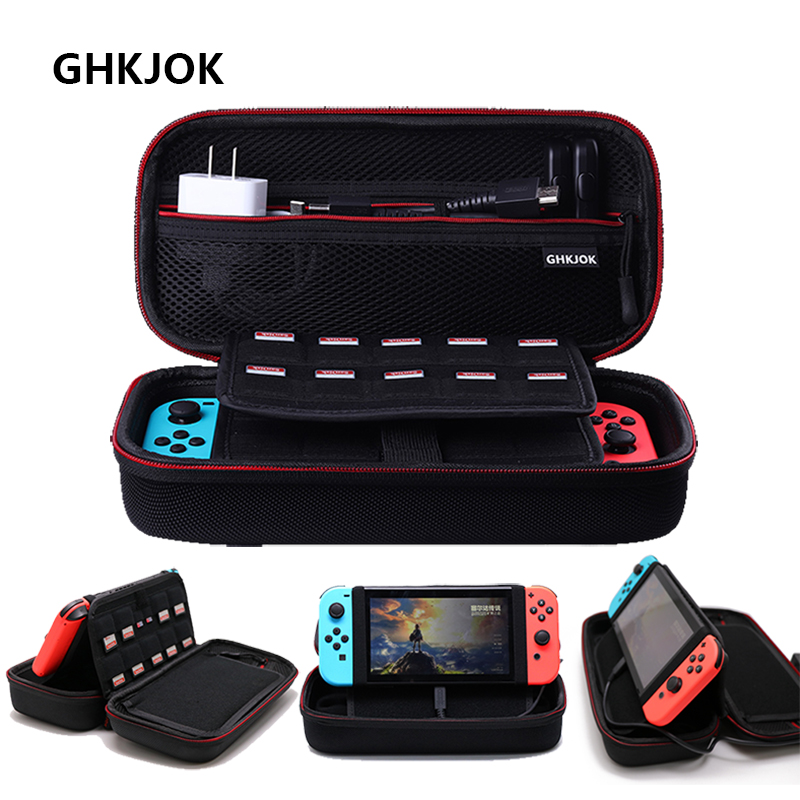 Nintend Switch Travel Carrying cases Protective EVA Hard Storage Bags Pouch Cover for NS Nintend Accessories HDD Zip cases