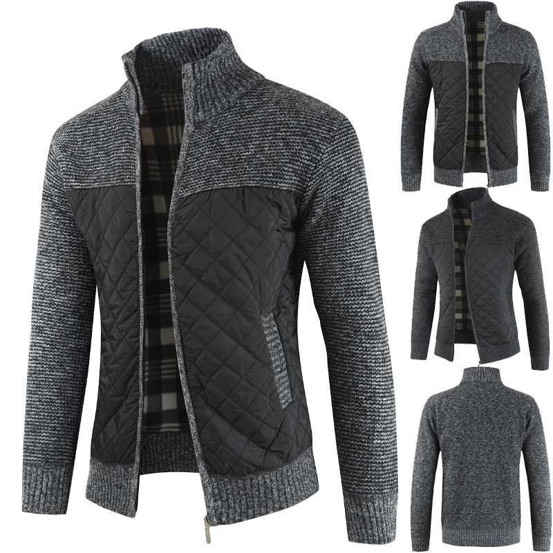 Mountainskin Men's Sweaters Autumn Winter Warm Knitted Sweater Jackets Cardigan Coats Male Clothing Casual Knitwear SA833 5
