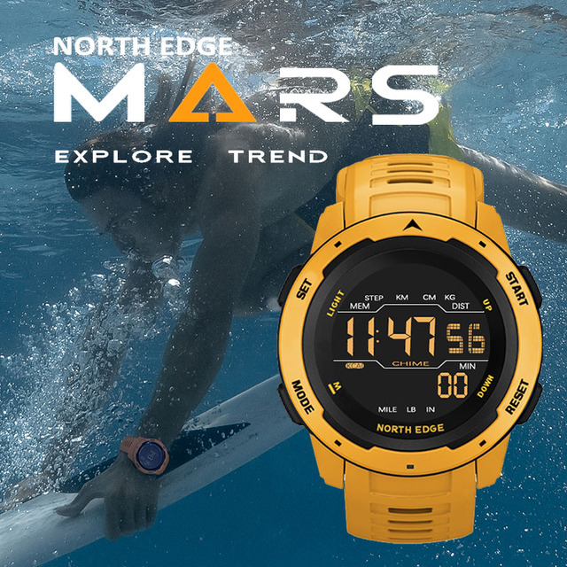 NORTH EDGE Digital Watch 8