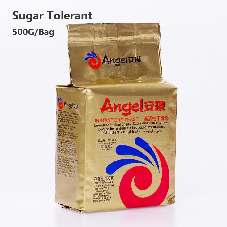 Instant Dry Yeast Sugar Tolerant 100g 500g Yeast Powder For Flour Fermentation Baking Yeast Bread Mantou Angel Yeast