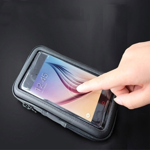 Image 3 - BuzzLee Bike Motor Phone Holder Waterproof Phone Bag Pouch Case Motorcycle Bicycle Handlebar Cellphones GPS Stand for iPhone 11