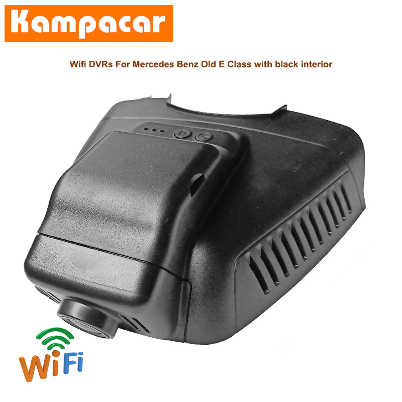 Kampacar Wifi Dash Cam Car Dvr Camera BZ09-C For Mercedes Benz E Class E200 W207 E350 <font><b>E220d</b></font> W212 W211 W204 CLK x204 Auto Dashcam image