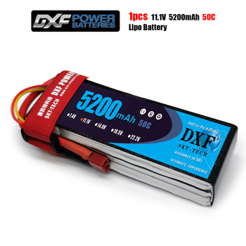 DXF Lipo 3s Battery 11.1V 5200mAh 50C MAX 100C For Romote Control Bateria Drone AKKU Helicopter Quadcopter Boat Airplane Car UAV