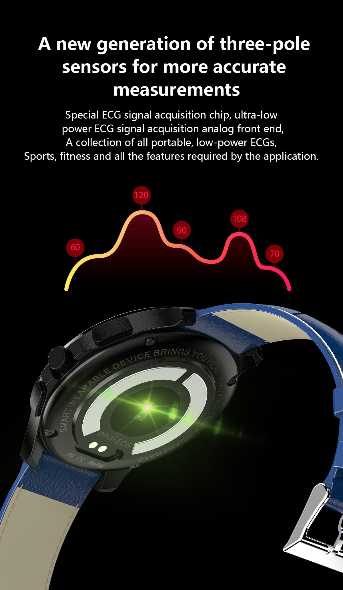 Marca superior magia relógio inteligente freqüência cardíaca