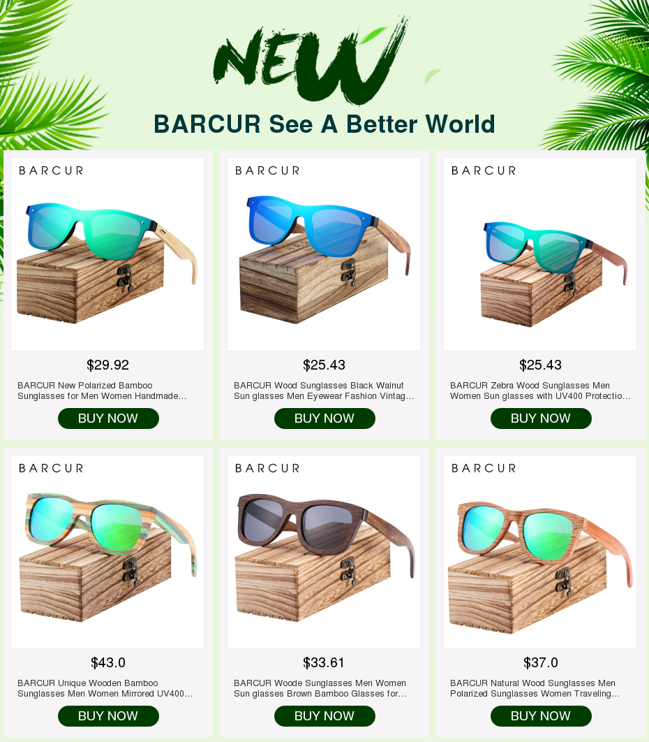 Hda3b5a8ef0e64da09280fe693a3335045 BARCUR Natural Wood Sunglasses Men Polarized Sunglasses Women Traveling Vintage glasses oculos de sol
