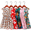 2021 sommer kleid für Mädchen Mom Tochter kinder Strand Sommerkleid Teenager Kleid familie aussehen mädchen Lange Kleider kinder kleidung