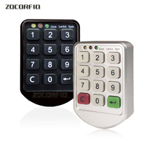 цена на Electronic password cupboard door lock electronic combination lock drawer lock / file cabinet lock