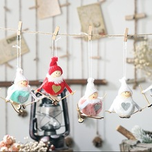 Get more info on the Christmas Plush Angel Doll Cute Skiing Dolls Christmas Tree Pendant Drop Ornament Christmas Party Decoration For HomeCM
