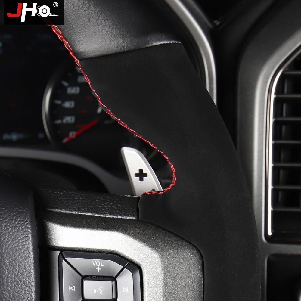 Купить jho автомобильные аксессуары пэтчворк искусственная кожа рулевое