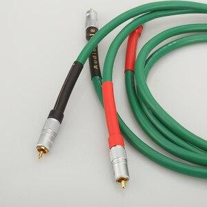Image 4 - Высококачественный Hi Fi аудио 2328 Чистый медный Hi Fi аудио кабель RCA соединительный кабель