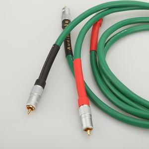 Image 4 - High Quality Hifi Audio 2328 Pure Copper HiFi Audio cable RCA interconnect cable