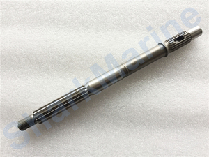Image 3 - Propeller shaft 66T 45611 00 for YAMAHA outboard 25/30/40HP
