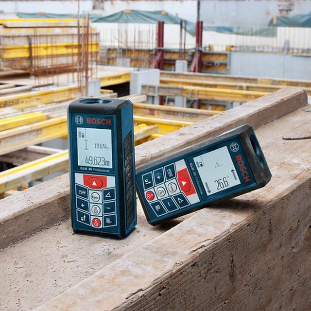 BOSCH Laser Range Finder 25/30/40/50/70 Meters Electronic Infrared Volume Room Ruler High Precision Measuring Instrument 4