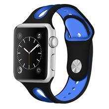 silicone strap for apple watch 42mm 38mm 44mm 40mm strap rubber bands for iwatch bracelet series 5 4 3 2 1 red blue green black New Breathable Silicone Sports Band for Apple Watch 5 4 3 2 1 42MM 38MM rubber strap bracelet bands for Iwatch 5 4 3 40mm 44mm