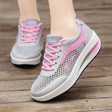 Women Vulcanize Shoes Lace Up Sneakers F