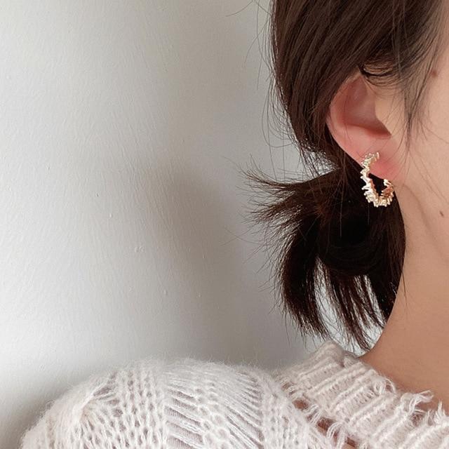 2021 New Hot Selling Zircon Earrings Crystal Earrings 3