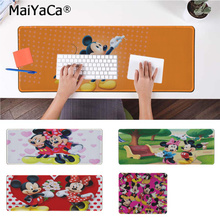MaiYaCa Boy Gift Pad Mickey Minnie Laptop Computer Mousepad Free Shipping Large Mouse Keyboards Mat