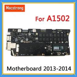 Getest A1502 Moederbord i5 2.6GHz 8GB i7 2.8GHz 16GB voor MacBook Pro Retina 13 A1502 logic Board 661-8146 820-3476-A 2013 2014