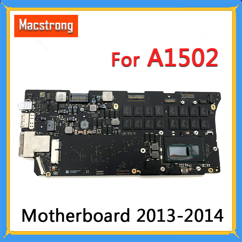 "Tested A1502 Motherboard I5 2.6GHz 8GB I7 2.8GHz 16GB For MacBook Pro Retina 13"" A1502 Logic Board 661-8146 820-3476-A 2013 2014"