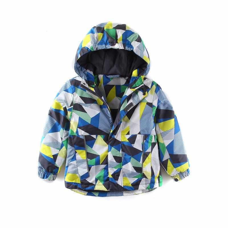 Mingkids Outdoor termiczna zielona kurtka wodoodporny płaszcz wiatroszczelny dla chłopców polar wiosna jesień rozmiar europejski niemiecka jakość