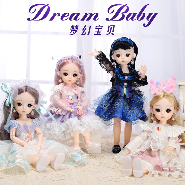12 Inches Princess 30cm Joints BJD Suit Series Doll Toys for Girls Children Birthday Christmas Gifts 2