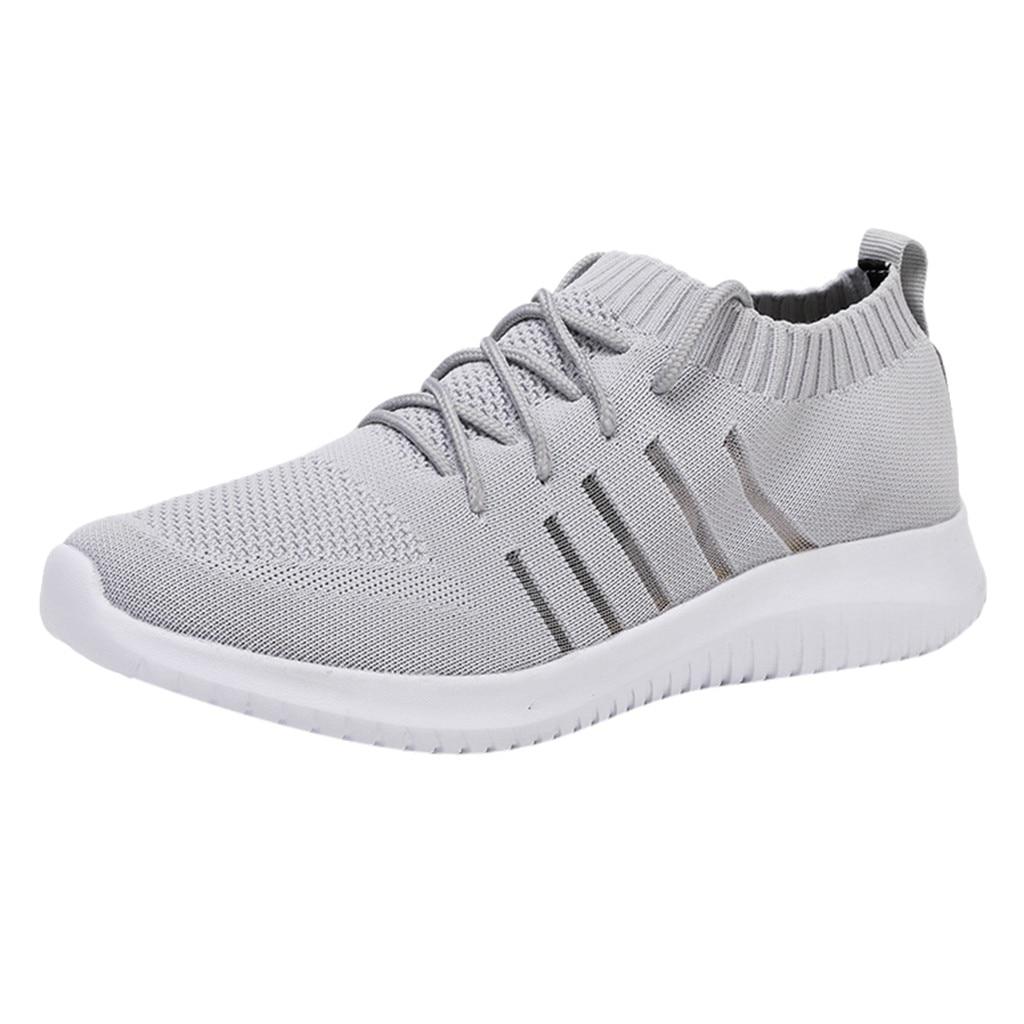 SAGACE Fashion Men's Shoes Mesh Breathable Sports Shoes for male Casual Shoes Men comfortable sneakers men Walking Sneaker Tenis