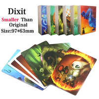 84 Cards English Just A Word DIXIT Board Games Family Party Deck Card Game Multiplayer Table Games Good Quality Factory Made