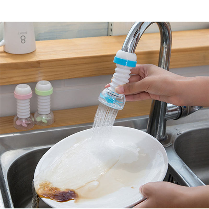 Kitchen Sink Accessories 360 Rotation Shower Tap Water Saving Sprayers Filter Nozzle for Faucet Aerator for Mixer Adapter