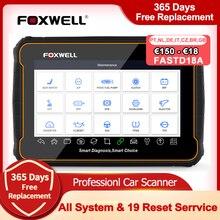 Foxwell herramienta de diagnóstico profesional GT60 OBD2, Sistema completo en ABS SRS DPF EPB 19, servicio de reinicio ODB2 OBD2, escáner automotriz