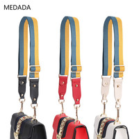 MEDADA new Shoulder bag Belt Women's Handbag Wide Belt Used for Section Adjustable Seatbelt Replacement 130cm