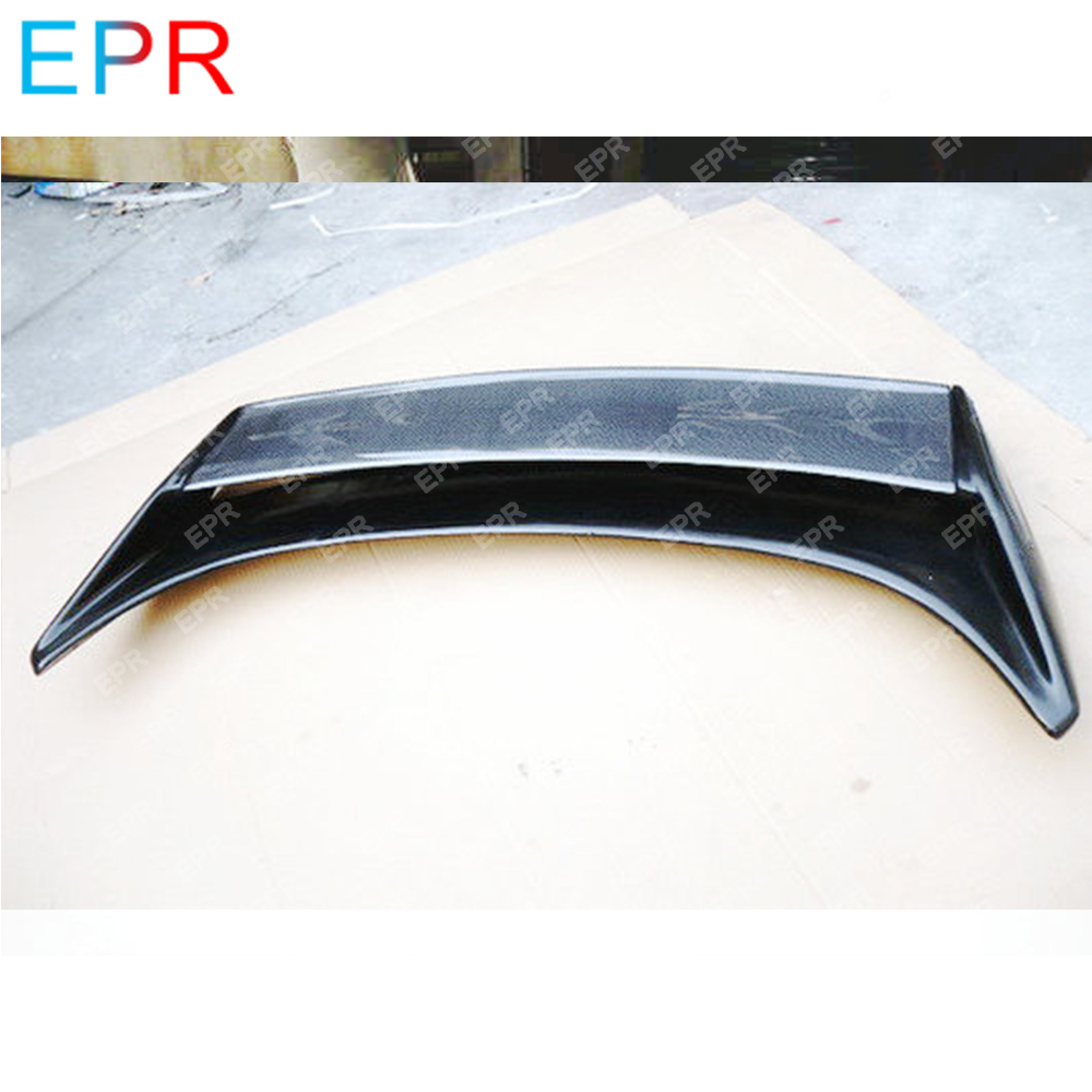 For Nissan 350Z V2 Style FRP Fiberglass Black Rear Trunk Spoiler Wing Bodykit