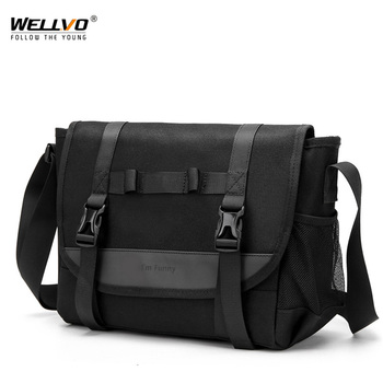 2020 New Casual Shoulder Bag Men Waterproof Messenger Bag For Male High Quality Zipper Travel Business Crossbody Bags XA286ZC augur high quality male canvas messenger bag waterproof 15 large travel shoulder crossbody bags for men s classic laptop bags