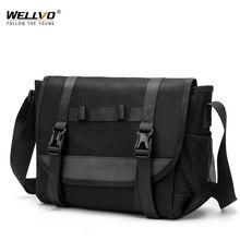 Мужская повседневная сумка через плечо XA286ZC, водонепроницаемая сумка мессенджер на молнии для путешествий, бизнеса, 2020
