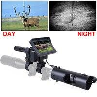 Jagd Nachtsicht für Zielfernrohr Kamera 850NM Infrarot LED IR 200 meter Klare Vision Umfang Gerät-in Nachtsichten aus Sport und Unterhaltung bei