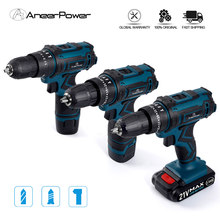 New Style 21V 16.8V 12V Electric Cordless Screwdriver 3 Functions Wireless Impact Drill Mini Lithium Battery Charging Hand Drill