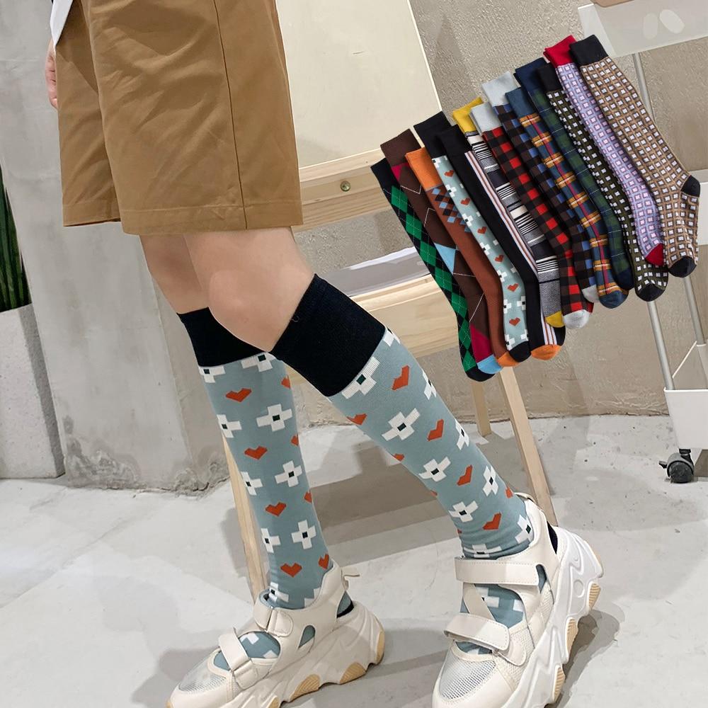 Salina/носки средней длины Повседневные детские носки в сеточку модные осенне зимние чулки хлопковые носки высокого качества|Чулки|   | АлиЭкспресс