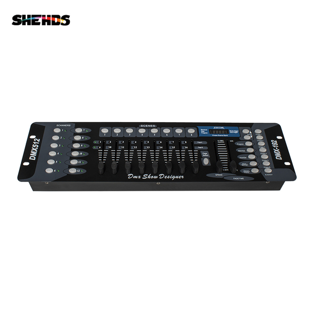 New Arrival 192 DMX Controller for moving head light 192 channels for DMX512 DJ equipment Dsico Controller