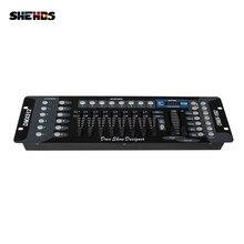 Новое поступление 192 DMX контроллер для подвижной головки светильник 192 каналов для DMX512 DJ оборудование Dsico контроллер