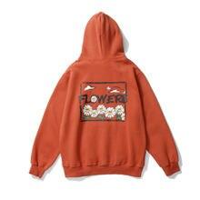 Флисовый Пуловер в стиле Харадзюку для мужчин и женщин Повседневная