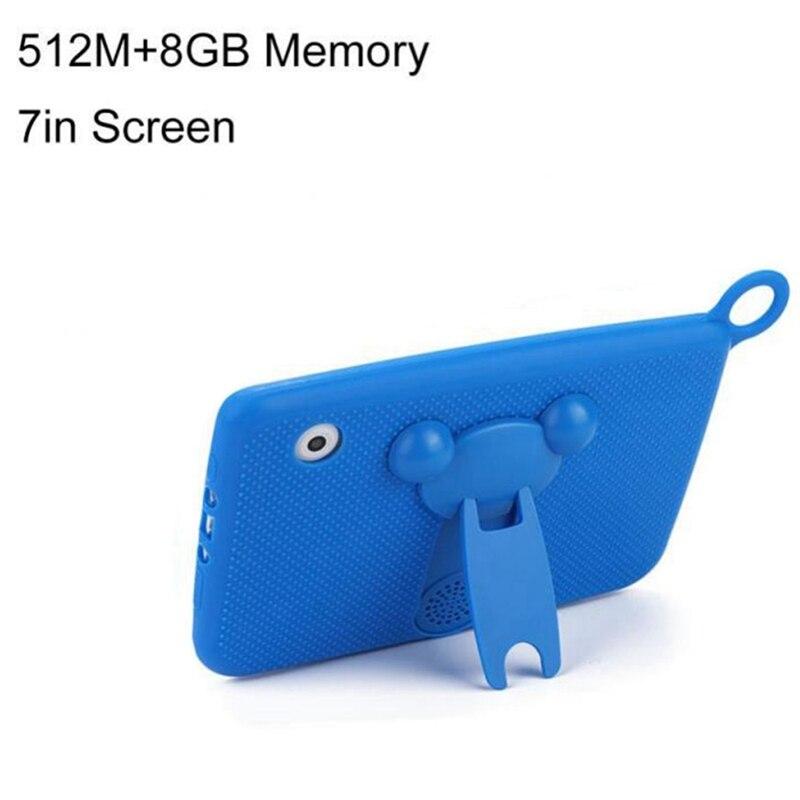Bébé enfants apprentissage jouets Portable tablette Bluetooth + Wifi enfants apprentissage tablette housse de protection 7 pouces 1024x600 Eu Plug tablette - 5