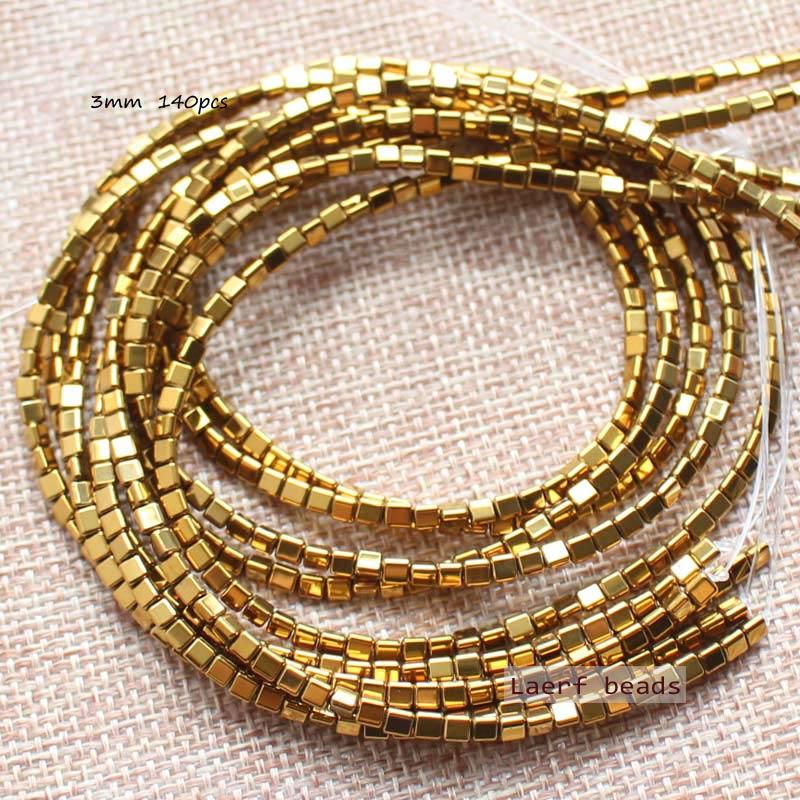 Perline triangolari in ematite naturale da 3mm 140 pezzi per filo, per la creazione di gioielli fai-da-te! Commercio allingrosso misto per tutti gli articoli!