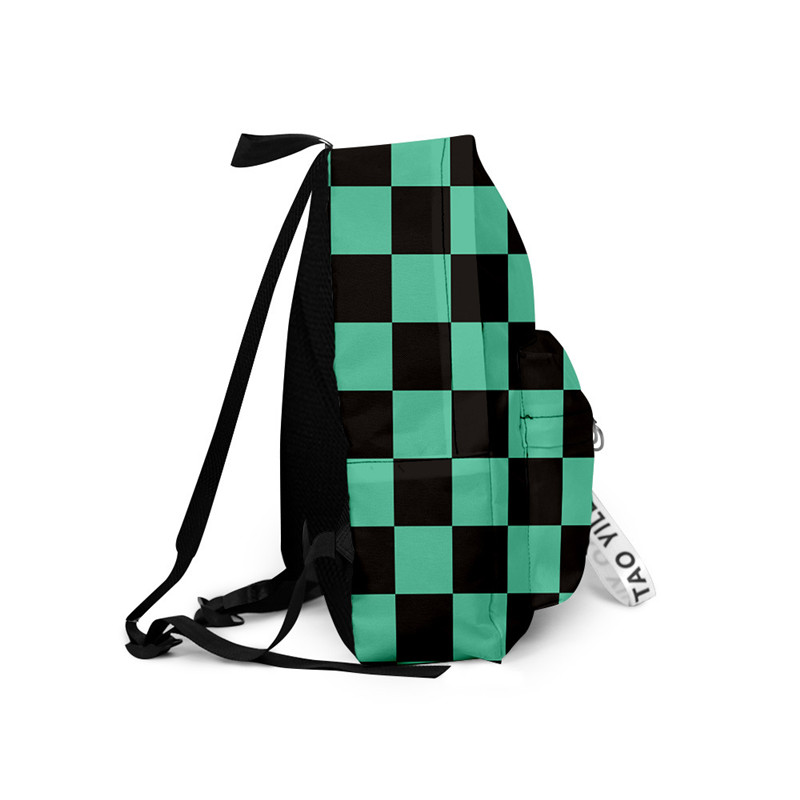 Hda4021cad14841e994e68f7de7070a518 - Demon Slayer: Kimetsu no Yaiba Backpack Canvas Bag Kamado Tanjirou School Bags Girl Mochila Feminina Nezuko Notebook Bag Cosplay