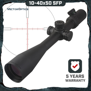 Vector Optics Gen 2 Sentinel 10-40x50 Shooting Sniper Riflescope Scope with Illuminated MP Reticle for Dear Sight Hunting(China)
