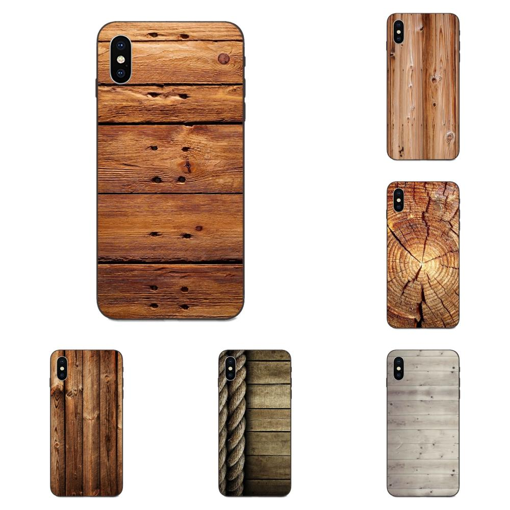 Soft Mobile Shell For <font><b>Galaxy</b></font> A3 A5 A6 A6s A7 A8 A9 A10 A20E A30 <font><b>A40</b></font> A50 A60 A70 A80 A90 Plus 2018 Texture <font><b>Wood</b></font> Novelty Fundas image